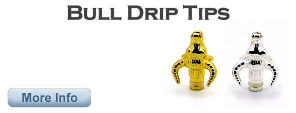 Metal Bull Head Drip Tip