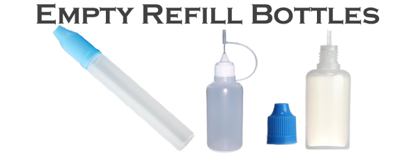 Empty Refill Bottles