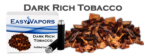 Prefilled Dark Rich Tobacco [Compatible Blu]
