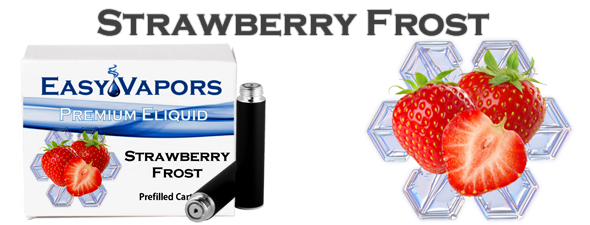 Prefilled Strawberry Frost [Compatible Blu]
