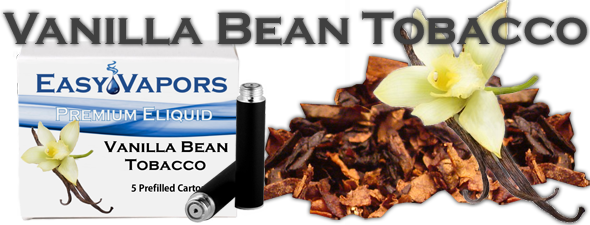 Prefilled Vanilla Bean Tobacco [Compatible Blu]