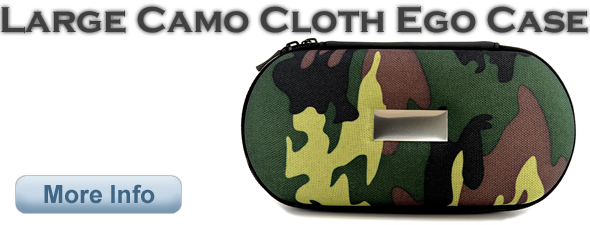 Large Camo Cloth Finish eGo Case