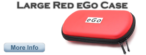 Large Red eGo Case