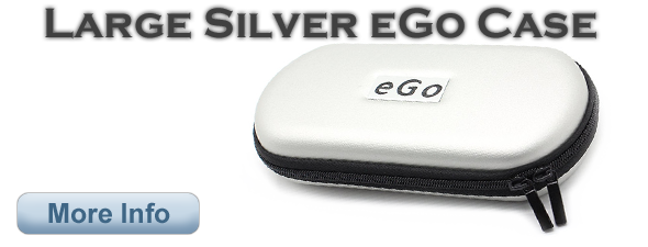 Large Silver eGo Case