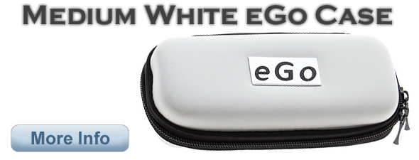 Medium White eGo Case