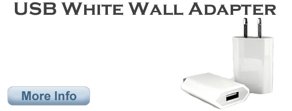 USB Wall Adapter [White]